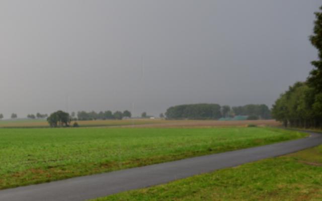 Das Rennen war vorbei, der Regen begann (das Meiste zog vorbei)!!!